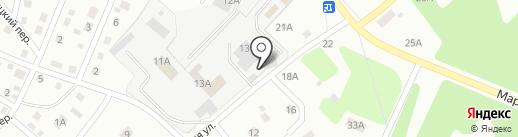 Автомойка на карте Кемерово
