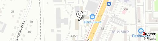 Элевтерия на карте Кемерово