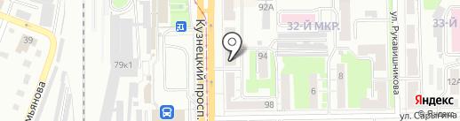 Пион на карте Кемерово