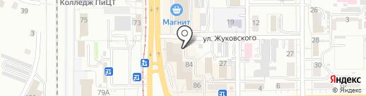 Капитал Норд на карте Кемерово