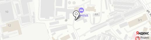 Стиони на карте Кемерово