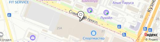 Интеръерро на карте Кемерово