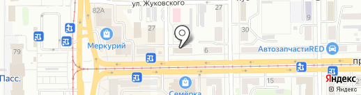 Академия Путешествий на карте Кемерово