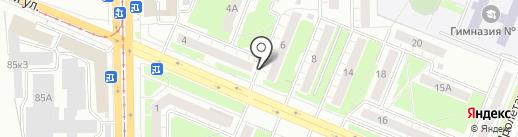 Добрый на карте Кемерово
