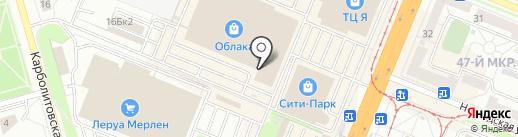Автотематика на карте Кемерово