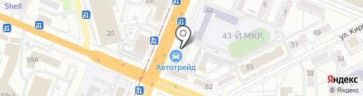 Молотов на карте Кемерово