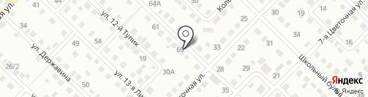 Компания по прокату строительных лесов на карте Кемерово