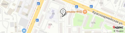 Кемеровский центр лечебной физкультуры и спортивной медицины на карте Кемерово