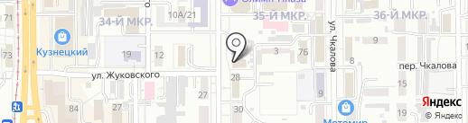Швейная мастерская-ателье на карте Кемерово