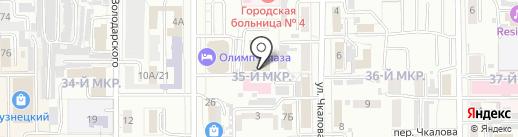 АвТО на карте Кемерово