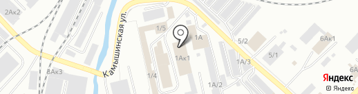 Андреевич на карте Кемерово