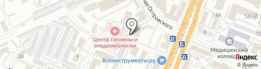 КАТОД на карте Кемерово