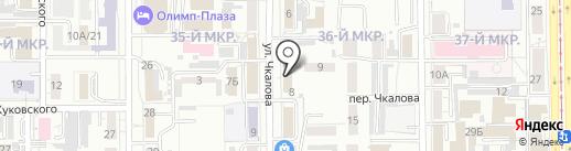 Агат на карте Кемерово