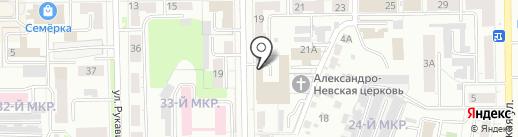GetTaxi на карте Кемерово