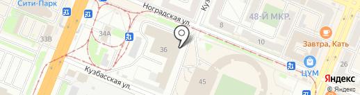 Капитал на карте Кемерово