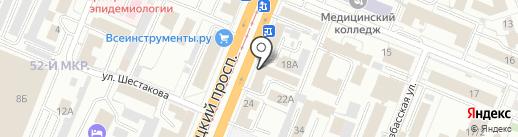 Агротехсиб на карте Кемерово