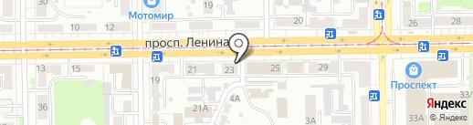 Доктор Зоо на карте Кемерово