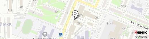 Натали на карте Кемерово