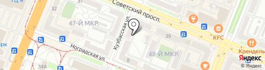 Квест42 на карте Кемерово