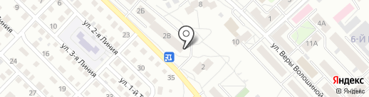 Магазин строительных материалов на карте Кемерово
