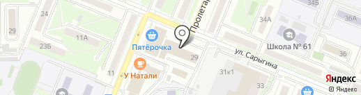 МАКСКОМ на карте Кемерово