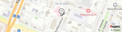 Центр Здоровья на карте Кемерово