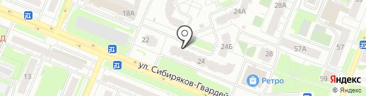 Комната на карте Кемерово