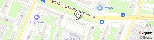 Фотосалон на карте Кемерово