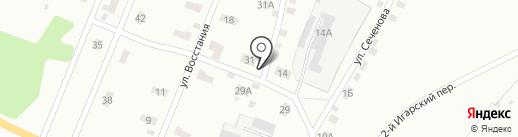 Компания по кладке печей и каминов на карте Кемерово