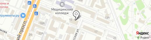 Кузбасский институт судебных экспертиз на карте Кемерово