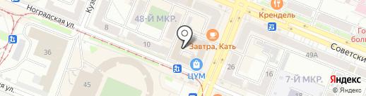 Glaze showroom на карте Кемерово