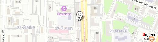 Микон на карте Кемерово