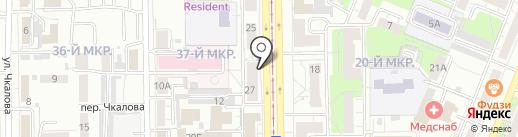 Касса взаимопомощи Друг на карте Кемерово
