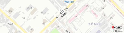Сибирский Клёв на карте Кемерово