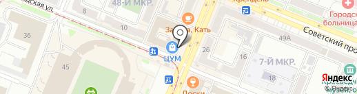 Магазин печатной продукции на карте Кемерово