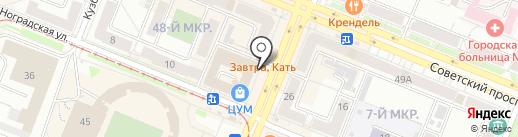 Декарт на карте Кемерово