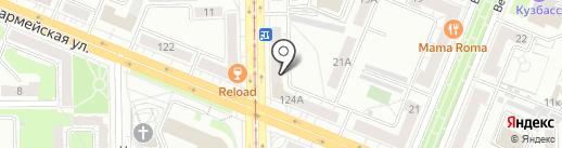 Шишка на карте Кемерово