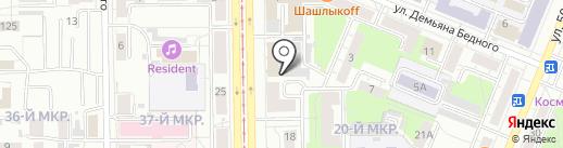 Регион на карте Кемерово