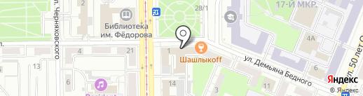 Лофт 360 на карте Кемерово