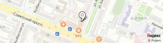 Доминант на карте Кемерово