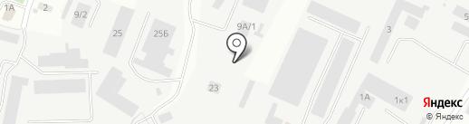 Авангард+ на карте Кемерово