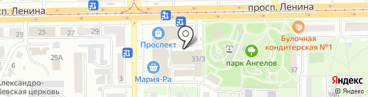 ФинЭко на карте Кемерово