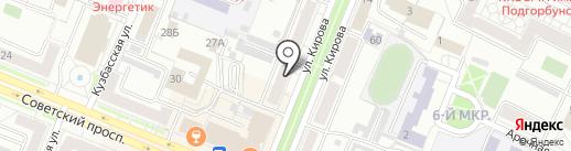 Анекс Тур на карте Кемерово