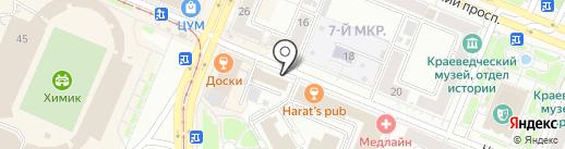 Педикюрный кабинет на карте Кемерово