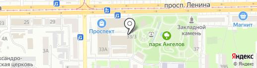 ДЕВАЙС на карте Кемерово
