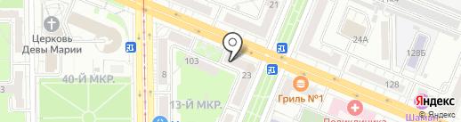 Полярник на карте Кемерово