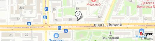 Книжная лавка на карте Кемерово