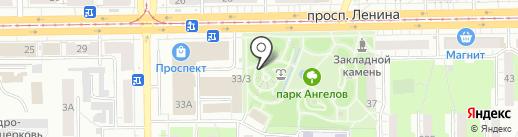 TianDe на карте Кемерово