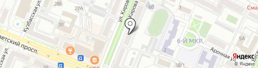 Данко+ на карте Кемерово
