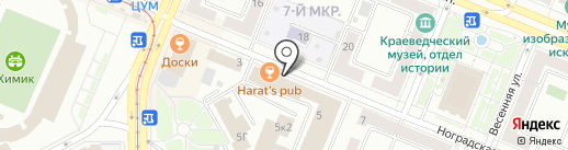 БЁВЕ на карте Кемерово